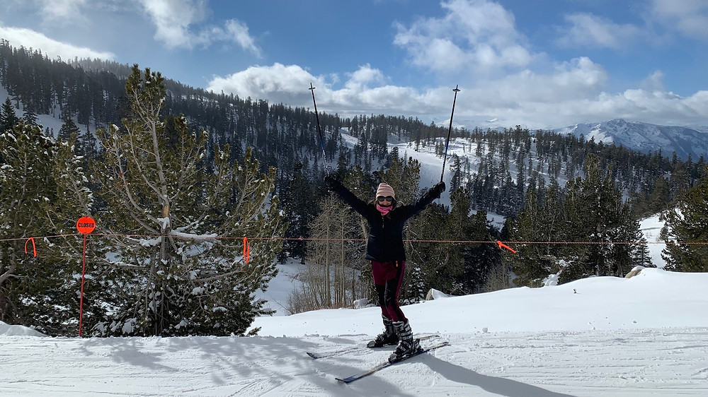 Cancer recovery, hip replacement recovery, ski heavenly at Tahoe, Triumph Over Cancer, cancer gifts, happy new year, healthy life