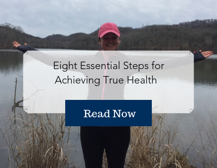 Eight Essential steps for achieving true health - step by step health guide - Briana Buenzli - Nashville lake - Tennessee mountains - Radner Lake