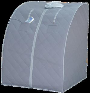 Personal Infrared sauna, portable sauna, heart attack prevention, sweat