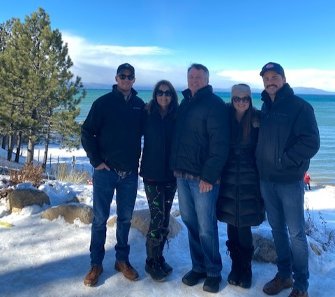Lake Tahoe Buenzli Family Christmas