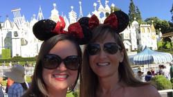 Tina Buenzli Briana Buenzli Disneyland Birthday Beating cancer healing naturally cancer can be fun l
