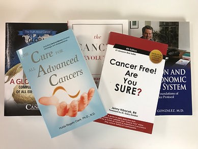 the cure for all cancers, cancer free are you sure, the truth about cancer, cancer books, dr nicholas gonzales, the cancer revolution, heal cancer naturaly, cancer epidemic, what causes cancer