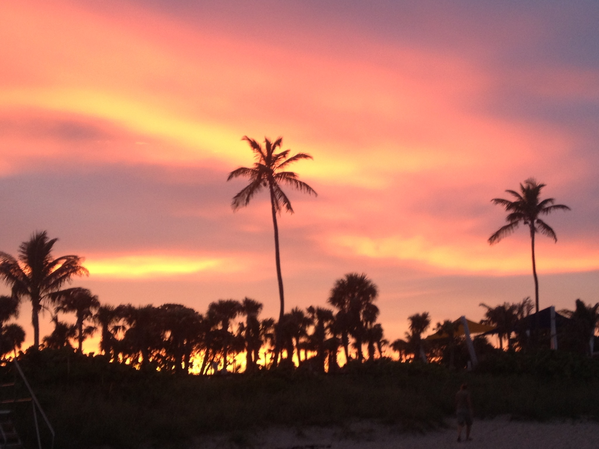 The most beautiful sunset in San Clemente California Triumph Over Health