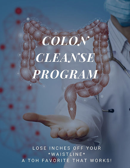 Colon Cleanse Program - IBS - Colitis -