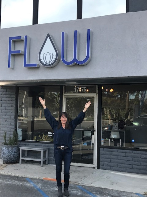 Tina Buenzli, reverse osmosis filtered water store, hot yoga studio, health and wellness store, health classes, Triumph Over Health