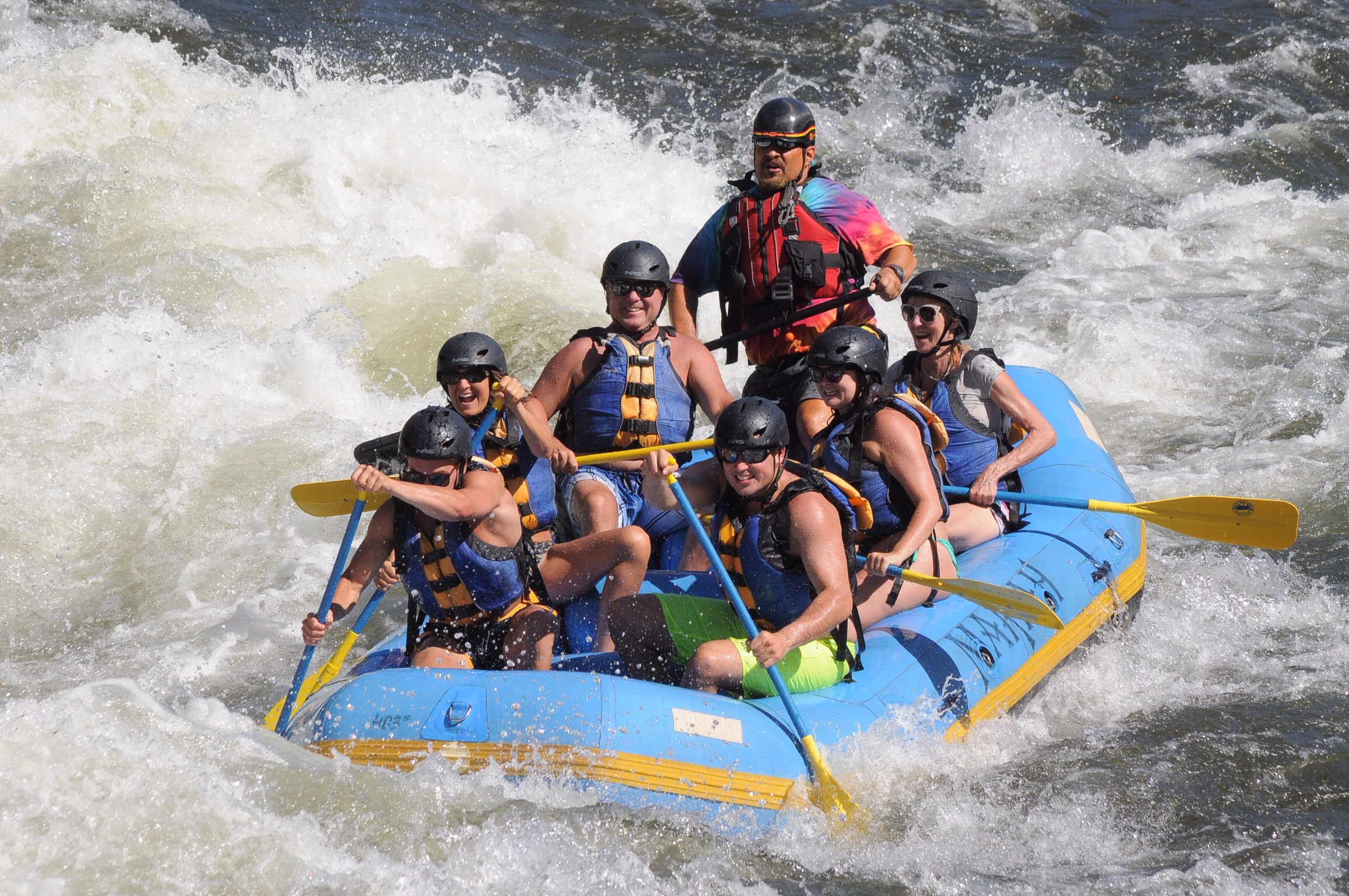 Buenzlis river rafting on the American River - beating cancer naturally while having fun - cancer th