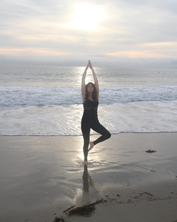 Yoga on Laguna Beach - healing cancer naturally - Triumph Over cancer - how to beat cancer - Triumph