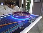 Soirée casino Vierzon avec sa table de roulette.