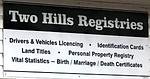 Two Hills Registries