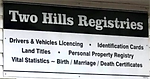 Two Hills Registries