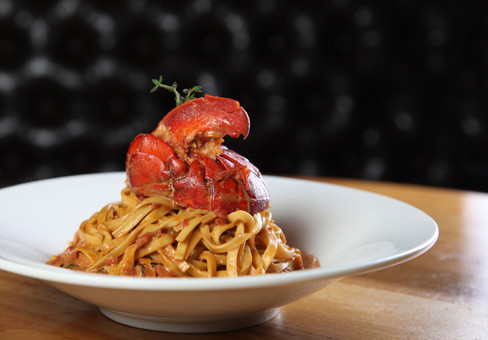 Homemade Tonarelli with Lobster