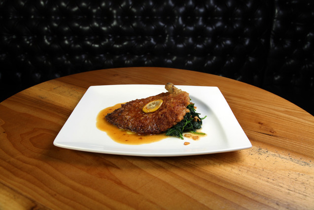 Parmigiano-Reggiano Crusted Chicken Breast