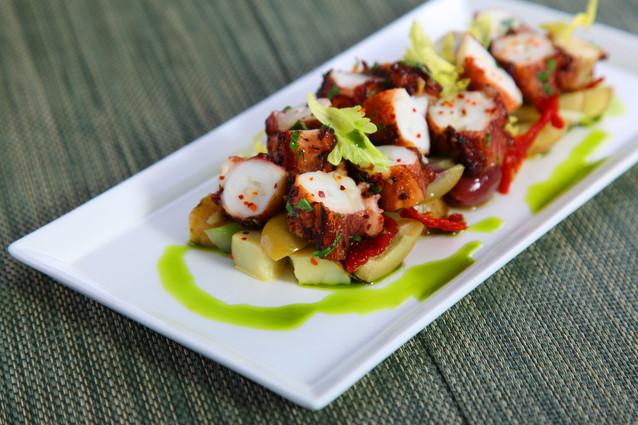 Seared Spanish Octopus