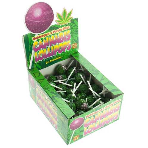 Cannabis Lollypop Candy Bulk