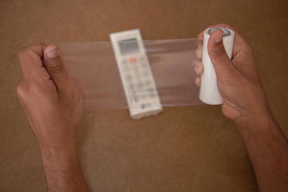 Aplicação ProtectVir em controle ar-condicionado