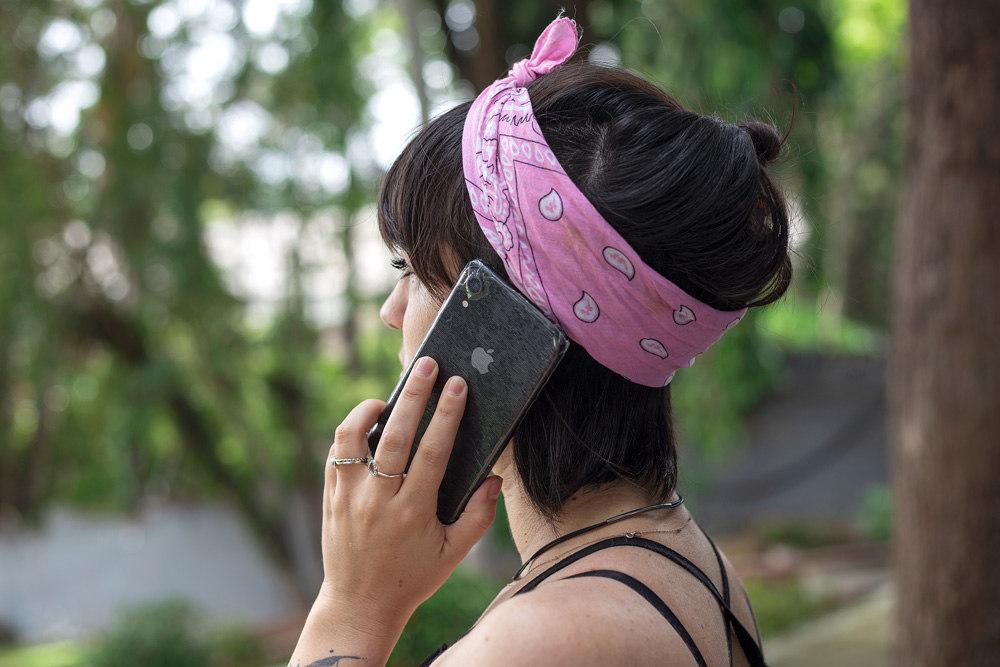 Aplicação ProtectVir em celular