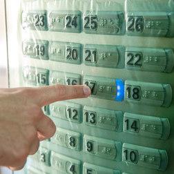 Aplicação ProtectVir no painel de elevador