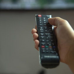 Aplicação ProtectVir em controle TV