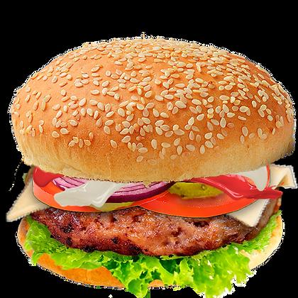 Бургер с Свиной котлетой