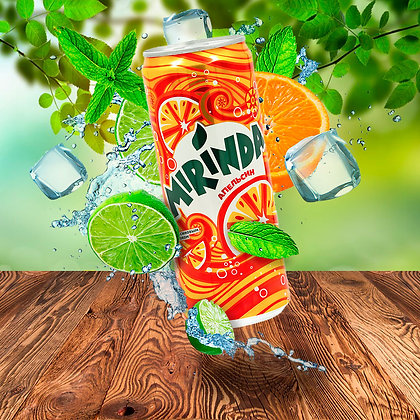 Mirinda Апельсиновый 0,33