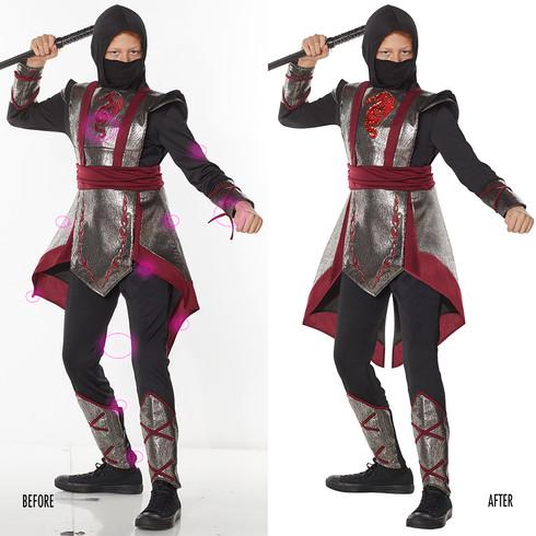 Spencer Gifts-Spirit Halloween: Ninja Signature Costume