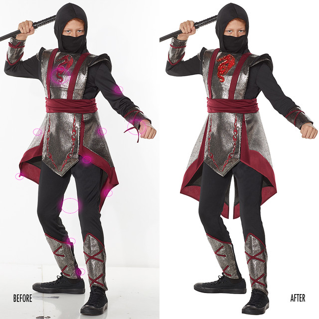 Spencer Gifts-Spirit Halloween: Ninja Signature Costume