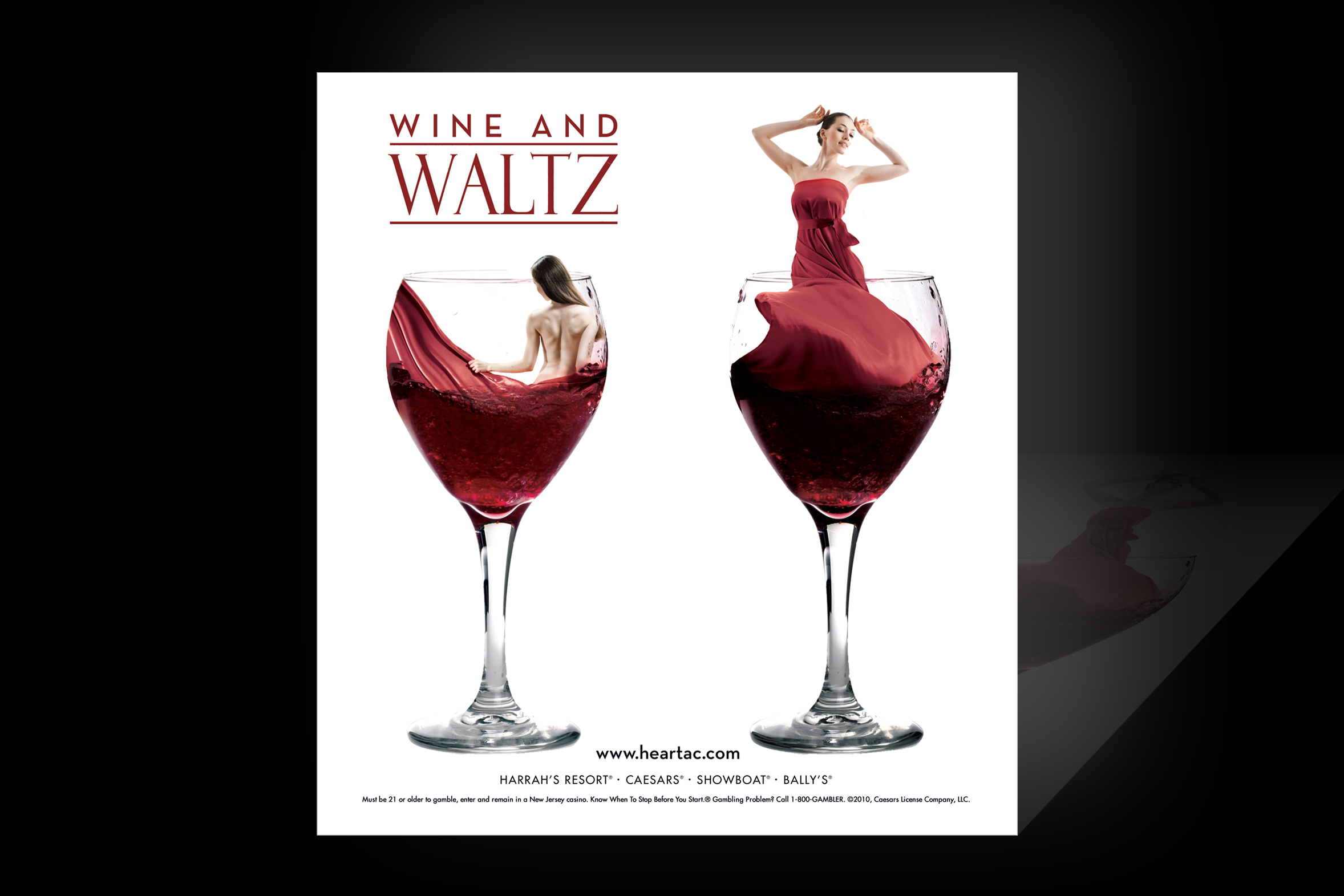 PRINT AD: Atlantic City Wine&Waltz