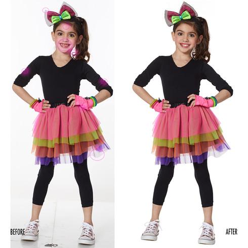 Spencer Gifts-Spirit Halloween: 1980's Girl Costume