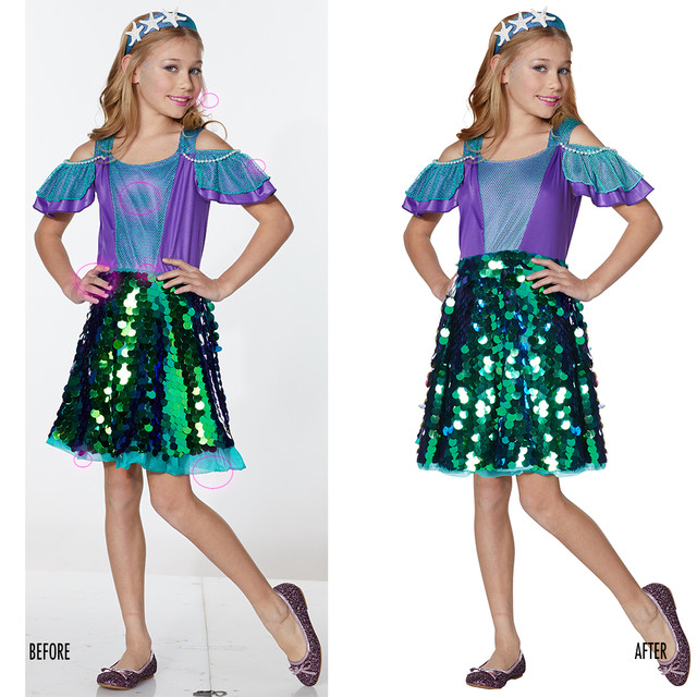 Spencer Gifts-Spirit Halloween: Mermaid Dress Costume