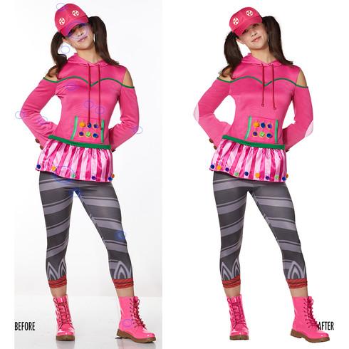 Spencer Gifts-Spirit Halloween: Fortnite Zoey Costume