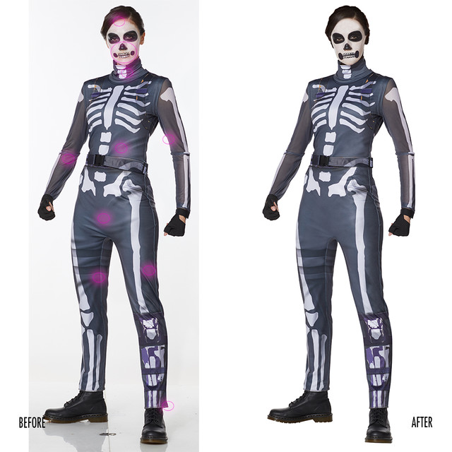 Spencer Gifts-Spirit Halloween: Fortnite Skull Ranger Costume