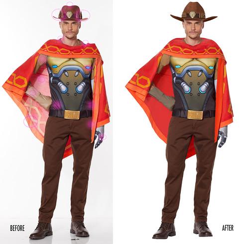 Spencer Gifts-Spirit Halloween: Overwatch McCree Costume