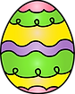 easter-kids-decorated-egg_WhimsyClips.pn