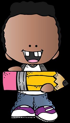 boy w pencil BHSS (c) Melonheadz Illustr