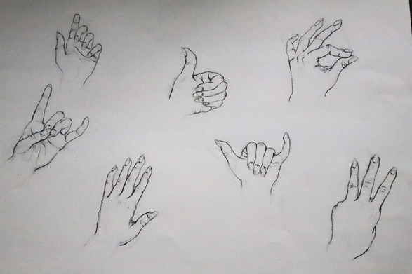 Drawing I Hand Figures