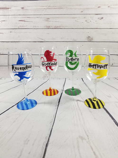 Striped Hogwarts House Cup