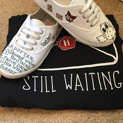 Hogwarts Letter Shoes