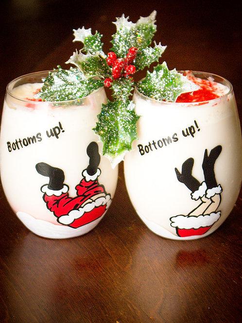Bottom's Up Wine Glass Set
