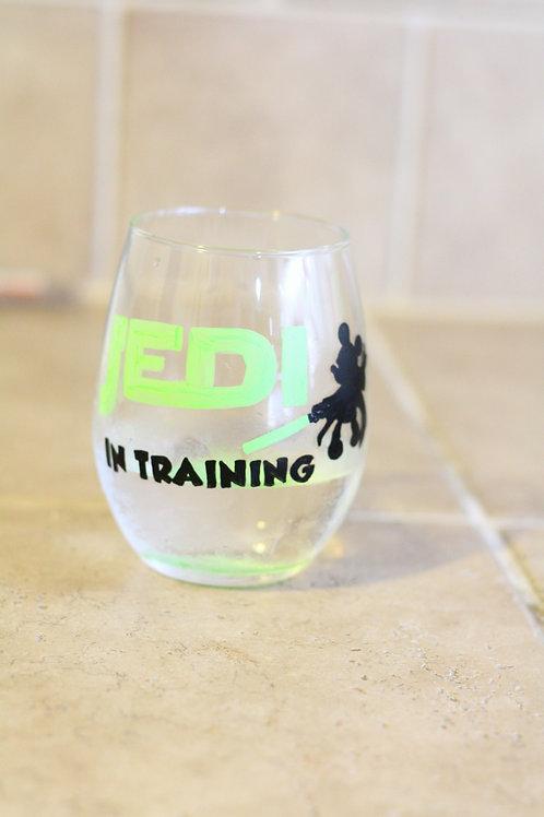 Jedi Wine Glass