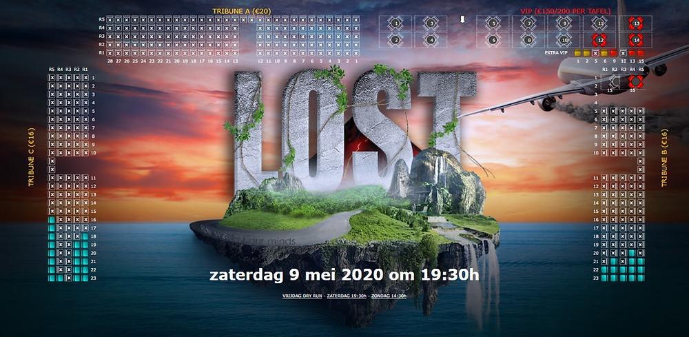 Status ticketverkoop zaterdag 9 mei 2020 (update 14/03/2020)
