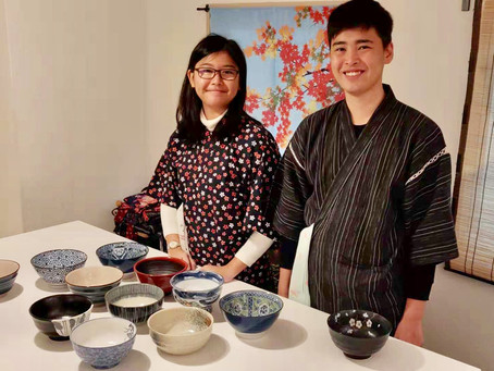 """Yesterdaymorning,we had our customers from Singapore🇸🇬. It was """"Udon cooking activity from scratc"""