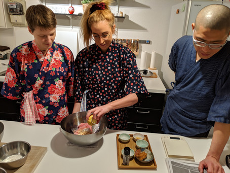 Today we made dimsum with customers from UK🇬🇧