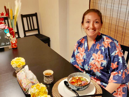 """Yesterdayafternoon,we had our customers from USA 🇺🇸& China🇨🇳.It was """"Vegan Ramen from Scrat"""