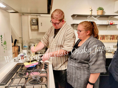 """Yesterday night,we had our customers from Danmark🇩🇰. It was """"Family meal cooking activity """".Thank"""