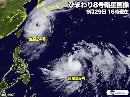 Today we have no classes because of the strong typhoon No.24. Stay safe and have a nice night.