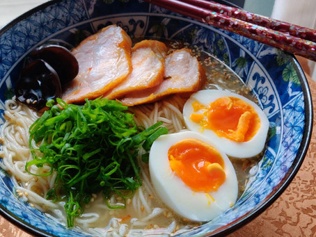 We offered new course for professional ramen cooking