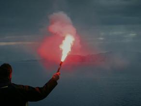 Marine Rocket parachute Flare, Hand flare, Buoyant smoke signal requirements as per LSA code & SOLAS
