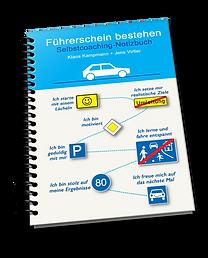 Führerschein bestehen Selbstcoaching Notizbuch