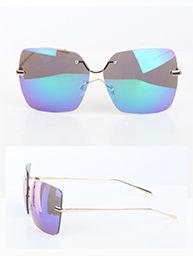 Cute Rimless Square Fashion Sunglasses