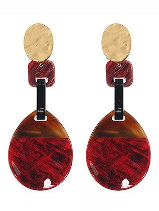 Scarlet Dangle Earrings